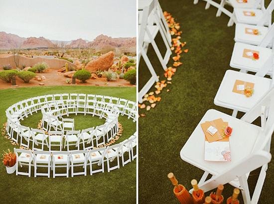 Circle Seating Arrangement For Beach Wedding: Circle Wedding Seating
